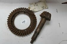 NOS Ring & Pinion Gearset S2245-46 604392 Ratio 41-10 1937-46 Dodge Desoto (105)