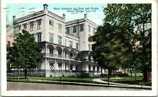 Postcard State Institute Deaf Dumb Baton Rouge Louisiana LA Vintage VTG A8