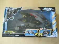 The Dark Knight Rises Batman Batpod Quiktech 2 in1 DC Comics 2012 MATTEL