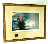 "Duck Stamp  Jerry Ellis Art Print  Framed 21.5"" x 18"""