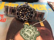 Steeldive Diver Watch Military Sub Auto Seiko NH35 Sapphire 41mm Ceramic 200m