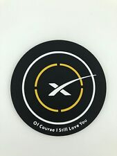 Magnet Of course i still love you Space X landing pad PVC Space Falcon