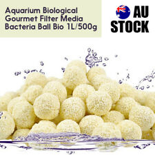 Aquarium Biological Filter Media Bacteria Ball Bio Fish Tank Pond 1L/500g