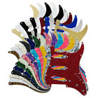 35 Colors ST SSS Pickguard 11 Holes Scratch Plate Pick Guard for FD Strat Guitar