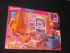 Barbie Doll FAMILY ROOM Furniture Set NIB Dollhouse 67553-93 So Real So Now 1998