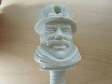 Rare Unpainted Wade Vintage Beefeater Gin Yeoman Bottle stopper  / pourer