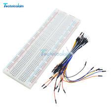 65Pcs Jumper Wires B2SA NEW MB102 Power Supply Modul+830 Holes Breadboard Tafel