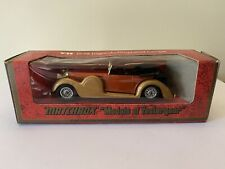 Matchbox Models of Yesteryear Y-11 1938 Lagonda Drophead Coupe