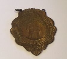 1895 Dedication Of Monument Chickamauga Battlefield Souvenir Medal Badge