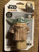 "Disney Star Wars LED Night Light ""The Child Baby Yoda Grogu"" New With Tags"