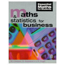 Maths and Statistics  for Business (Essential Maths for Students)-ExLibrary