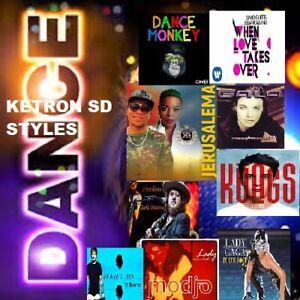 "Styles KETRON SD1 SD3 SD5 SD 7  ""DANCE PACK "" 🆕😎🎼🎹🎷"