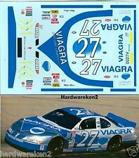 NASCAR DECAL #27 VIAGRA 2000 PONTIAC GRAND PRIX MIKE BLISS -1/24 Scale