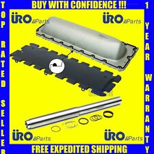 BMW Engine Water Collapsible Transfer Pipe Kit+Valley Pan+Plastic Gasket Kit URO