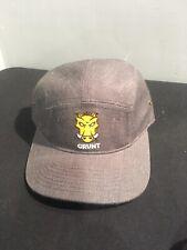Grunt Warthog Hat Cap Unstructured Dark Heather New! Free Shipping!