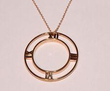 18Carat Rose Gold Fine Necklaces & Pendants without Stones