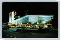 Miami Beach FL, Beachcomber Resort Motel, Chrome Florida c1968 Postcard