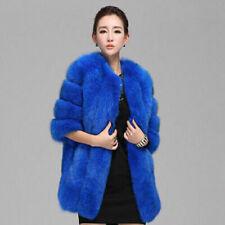 Cappotti, giacche e gilet da donna blu pelliccia | Acquisti