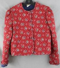 Vintage Vera Bradley Designs Quilted Jacket Beautiful Quality Retired, Size M
