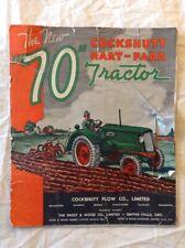 Cockshutt Hart-Parr 1928-1945 Vintage Farming Catalog In Good Condition