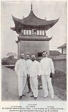SICHUAN SU TCHUEN MISSION OLLONE DE FLEURELLE BOYVE LEPAGE IMAGE 1908 OLD PRINT