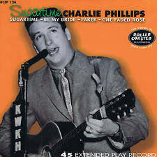 BUDDY HOLLY & CHARLIE PHILLIPS - 4 RARE ORIGINAL ROCKABILLY RECORDINGS - NEW EP