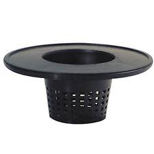 "Mesh Pot Bucket Lid 6"" - fits 5 gallon net cups hydroponics drip system 6 inch"