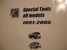 1991 thru 2005 Saturn Special Tools Service Shop Manual