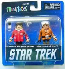 Star Trek Minimates Pack 2 figurines : Amiral Kirk & Khan