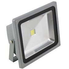 50W HighPower LED Fluter IP65 230V Garten-Leuchte Wand Fassaden-Strahler Außen