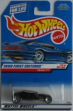 Hot Wheels-track-T negro nuevo/en el embalaje original us-Card