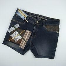 Upcycled Denim Shorts Women's Size 12