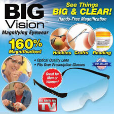 Big Vision Glasses Reading Bigger Magnifying Glasses Eyewear As Seen On TV