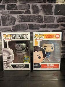 Funko Pop Movie Bundle x2 - Animal House Bluto & Iron Bob SDCC 2020 **BNIB**