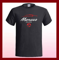 Holden Monaro Racing Logo Car Emblem NEW Men's Black T-Shirt S M L XL 2XL 3XL