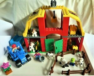 INCOMPLETE - LEGO Duplo Set 5649 Big Farm - Various Pieces Substituted/Missing