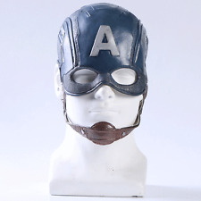 Captain America 3 Civil War Steven Rogers Cosplay Hat Helmet Halloween mask