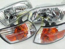 Clear Headlights Corner Lights for 94-97 TOYOTA Corolla sedan AE110 E110 #gt