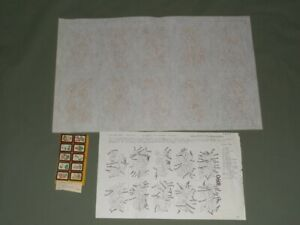 10 Vintage Tri-Chem Canadian Provincial Flowers Small Ready to Paint Pictures