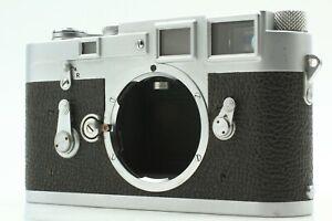 """EXC+5"" Leica M3 Double Stroke 35mm Rangefinder Film Camera Body JAPAN #1415"