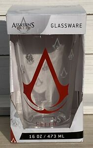 Assassin's Creed Logo Boxed Gift Pint Glass 16oz NEW