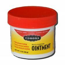 Corona Ointment 2 oz 30% Lanolin Salve Hoof Scrape Sores Moisture Equine Horse