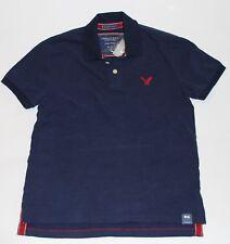 NWT! AMERICAN EAGLE Mens AE Polo Shirt Classic Fit Navy, XS