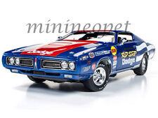 AUTOWORLD AW224 ROD SHOP 1971 71 DODGE CHARGER SUPER BEE 1/18 DAVE BOERTMAN