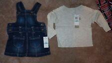 NEW CK CALVIN KLEIN JEANS 2 Piece PC Dress Shirt Baby Infant 6 9 mos months NWT