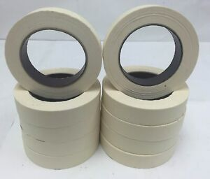 "1-48 Rolls General Purpose Masking Tape Painters Case 1""x60yd 3/4 Factory 2nds"