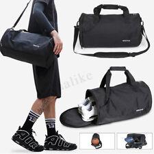 afbc466ebb68 Men Outdoor Sport Gym Duffle Luggage Shoulder Fitness Barrel Travel Bags  Shoes