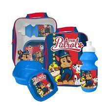 PAW PATROL HERE TO HELP CHILDREN KID LUNCH SCHOOL SANDWICH BAG BOX SPORTS BOTTLE
