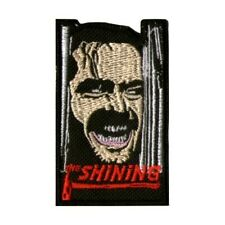 The Shining & Logo Embroidered Patch Horror Movie Jack Nicholson Stanley Kubrick
