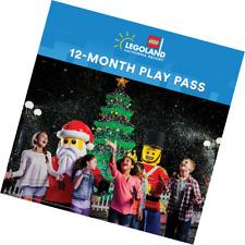 LEGOLAND California Resort 12-Month Play PassPlus Two 1-Day Resort